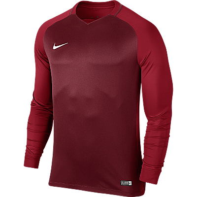 Nike Trophy III Jersey Long Sleeve Team Red/Gym Red/Gym Red/White
