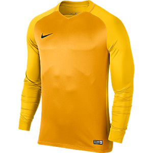 Nike Trophy III Jersey Long Sleeve University Gold/Tour Yellow/Tour Yellow/Black