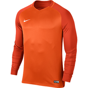Nike Trophy III Jersey Long Sleeve Safety Orange/Team Orange/Team Orange/White