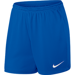 Nike Womens Park Short Royal Blue