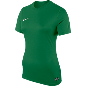 Nike Womens Park Jersey Short Sleeve Pine Green