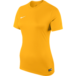 Nike Womens Park Jersey Short Sleeve University Gold