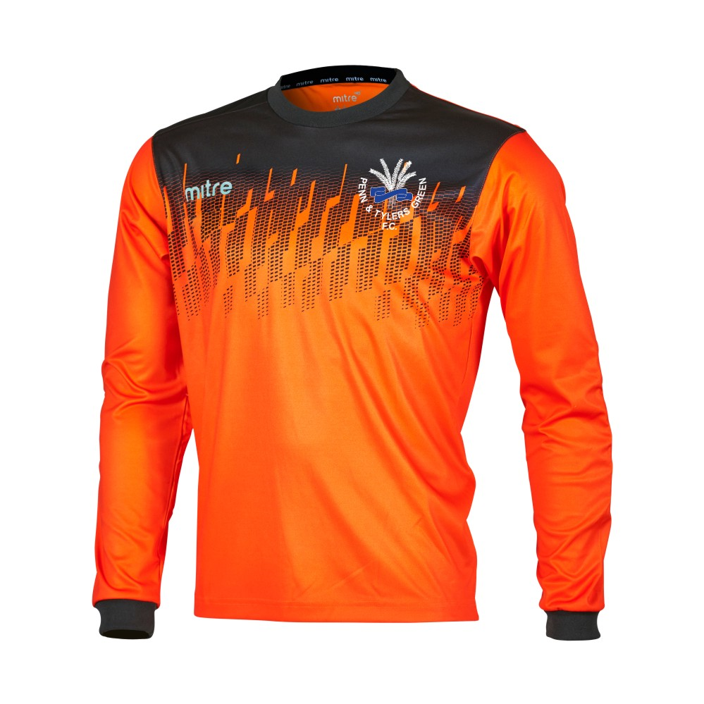 Penn and Tylers Green FC Mitre Goalkeeper Shirt Long Sleeve