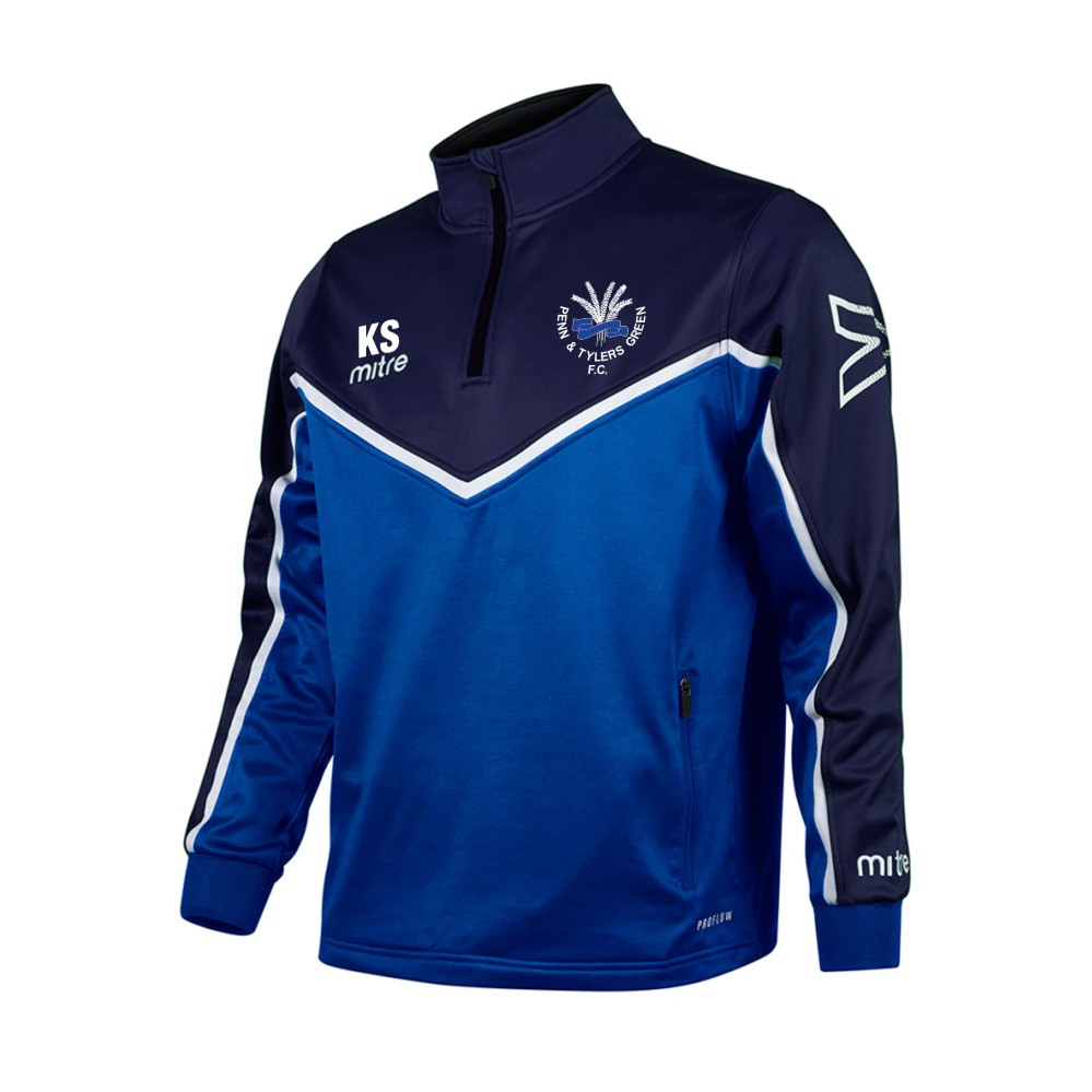 Penn and Tylers Green FC Mitre 1/4 Zip Midlayer