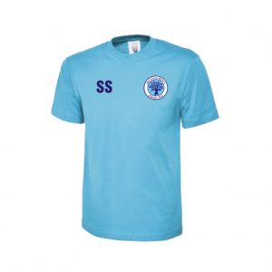 Spelthorne Sports FC Cotton T-shirt (Sky Blue)