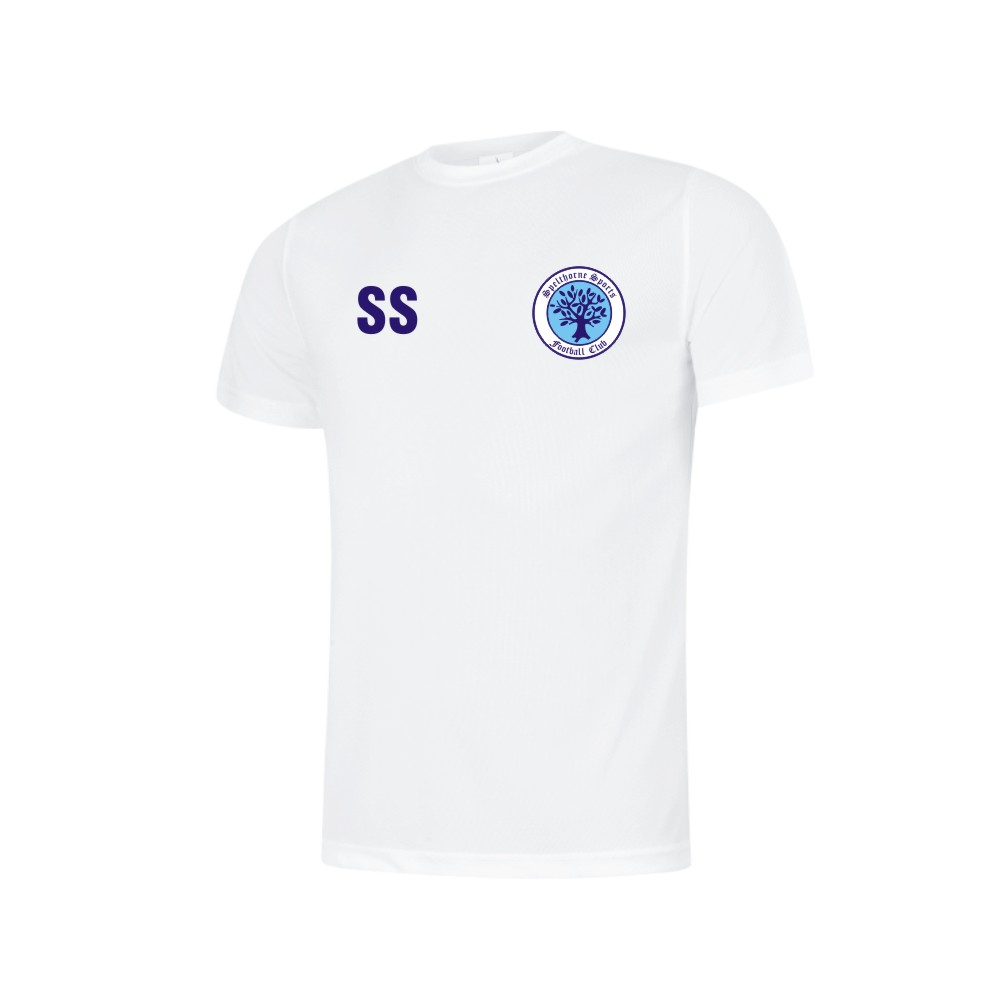 Spelthorne Sports FC Poly Cool T-shirt (White)