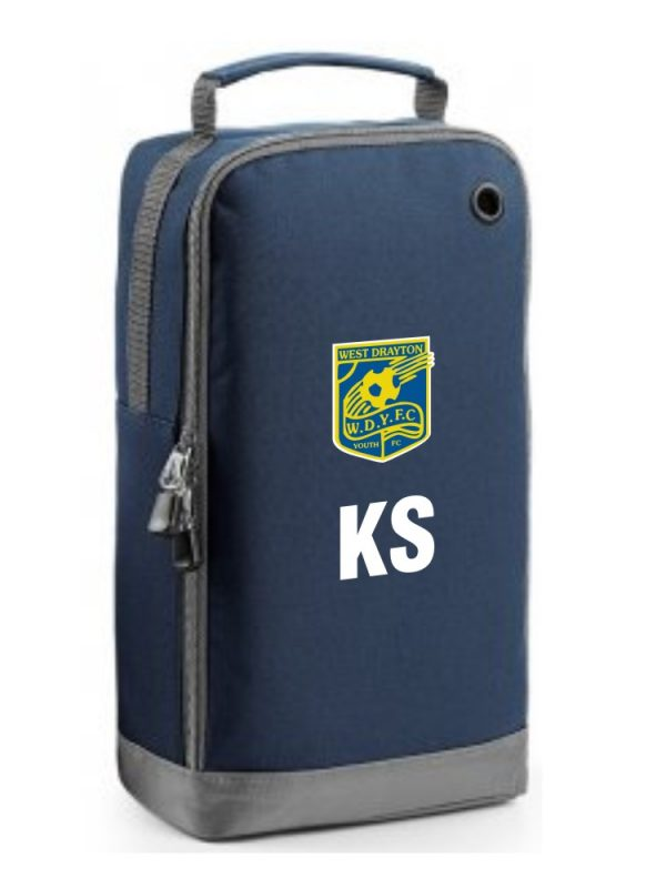 West Drayton Youth FC Boot Bag Navy