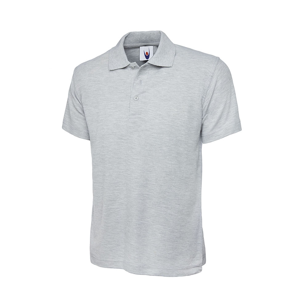 Classic Poloshirt Heather Grey