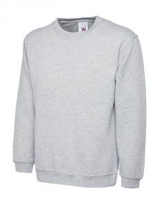 Classic Sweatshirt Heather Grey
