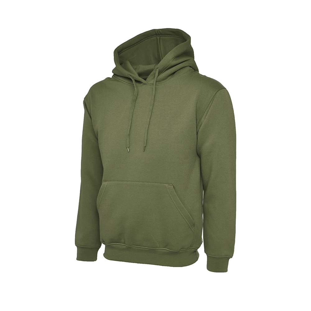 Classic Hoody Military Green