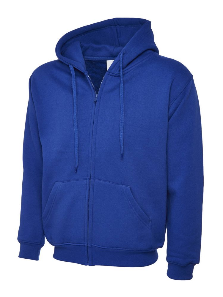 Classic Full Zip Hoody Royal