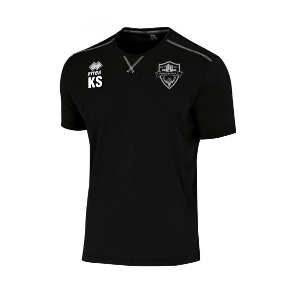 Windsor FC Short Sleeve Everton Black Training Shirt