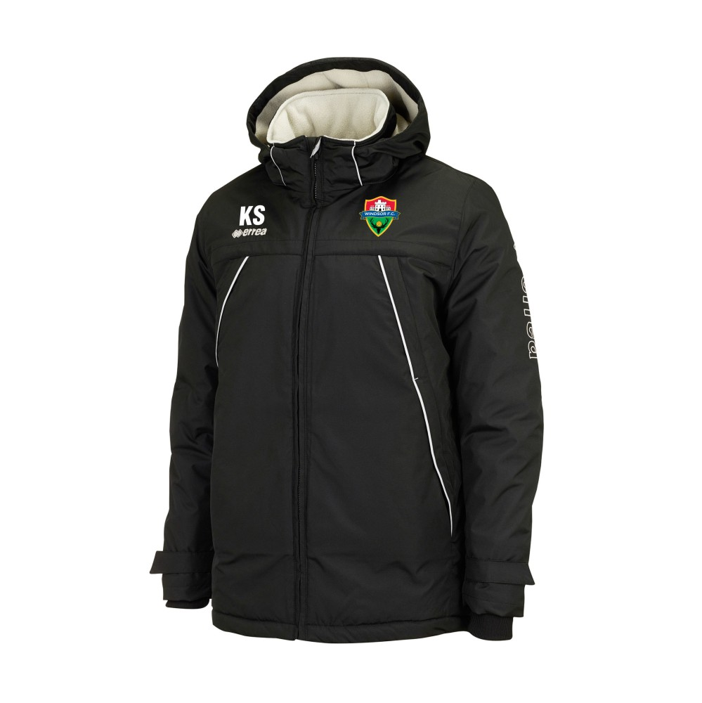 Windsor FC Iceland Fleece Lined Jacket with Coloured Badge