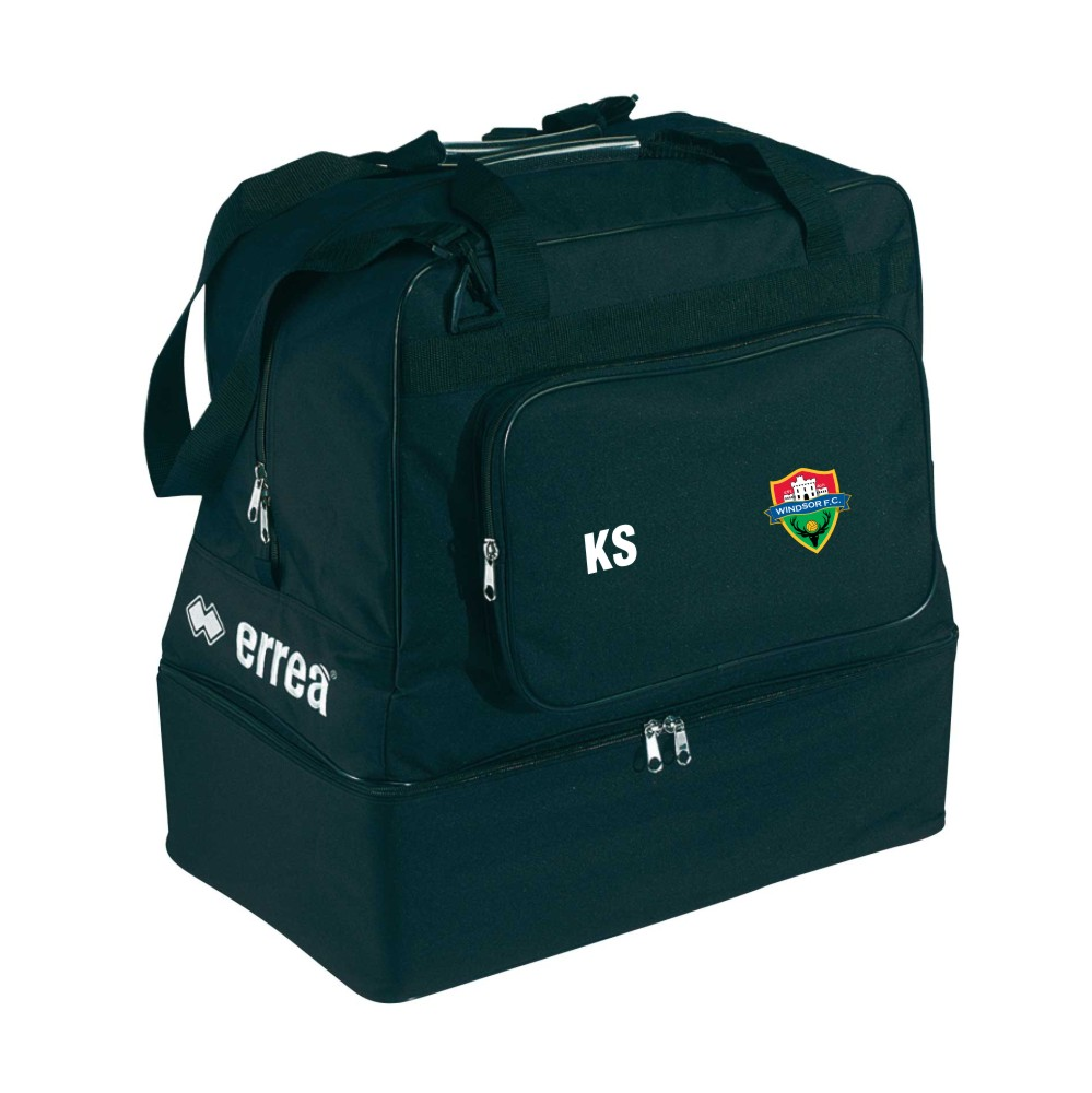 Windsor FC Basic Holdall with Coloured Badge