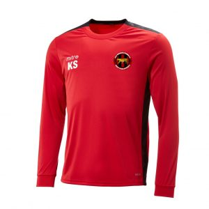 Old Windsor Tigers Mitre Charge Long Sleeve Training Shirt