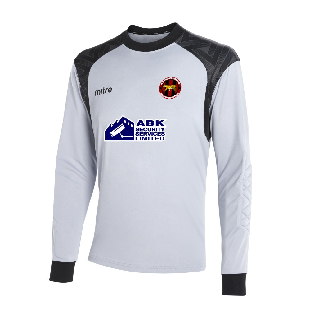 Old Windsor Tigers Mitre Guard Long Sleeve Silver Goal Keeper Shirt