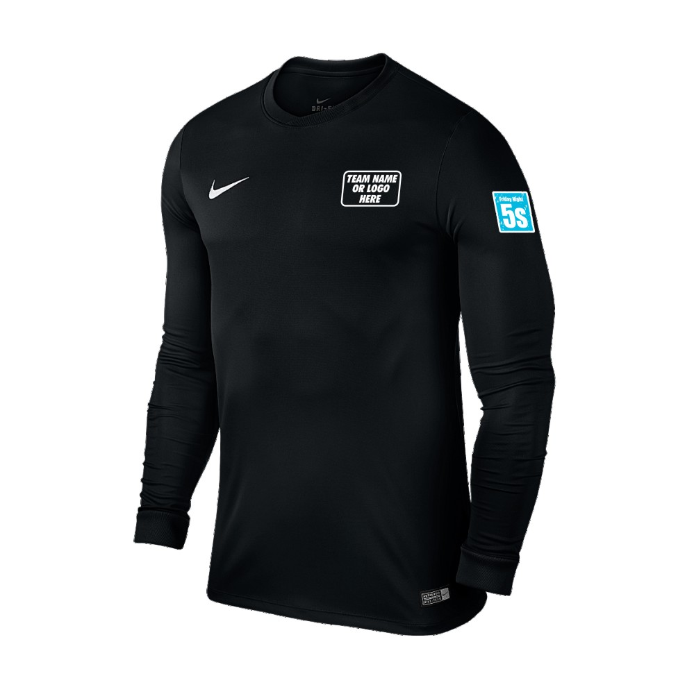 Friday Night 5's Nike Long Sleeve Park Shirt Black