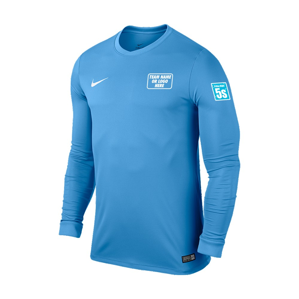 Friday Night 5's Nike Long Sleeve Park Shirt University Blue