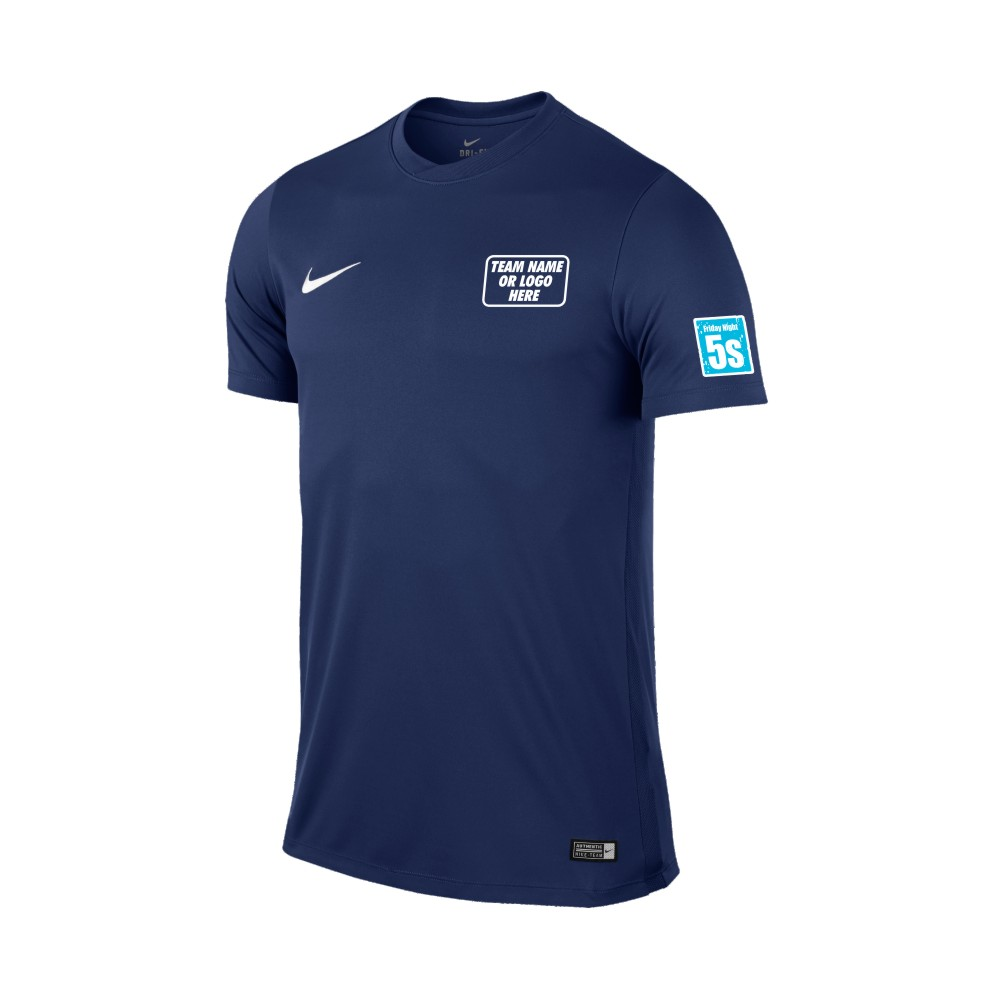 Friday Night 5's Nike Short Sleeve Park Shirt Midnight Navy