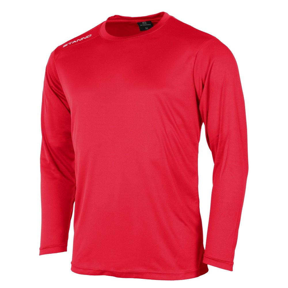 Stanno Field Long Sleeve Shirt Red