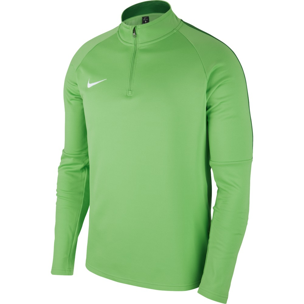 Nike Academy 18 Drill Top Green Spark/Pine Green/White