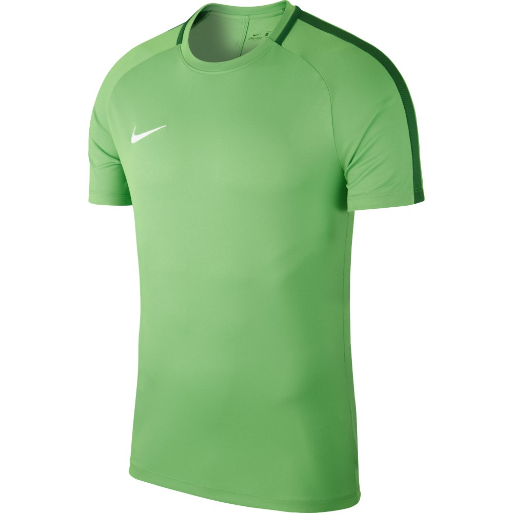 Nike Academy 18 Training Top Green Spark/Pine Green/White
