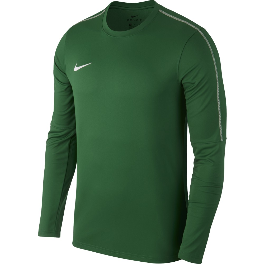 Nike Park 18 Drill Top Pine Green/White
