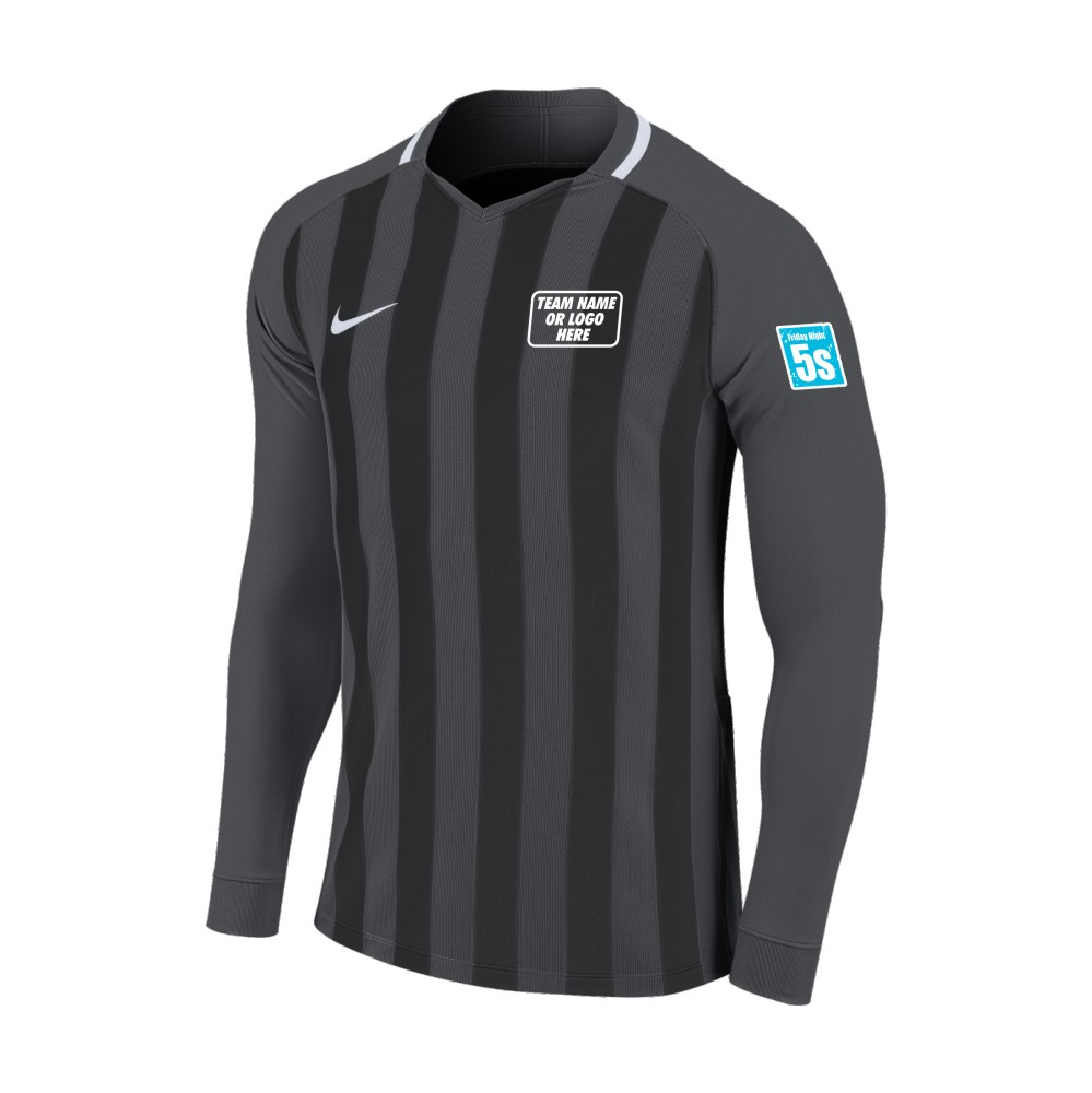 Friday Night 5's Nike Long Sleeve Division Shirt Anthracite/Black