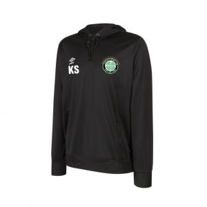 Eldon Celtic FC Official Umbro Club Essential Poly Hooded Sweatshirt