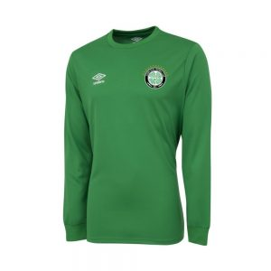 Eldon Celtic FC Official Umbro Long Sleeve Home Jersey