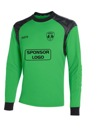 Halliford Colts FC Mitre Away Lime Goalkeeper Shirt Long Sleeve