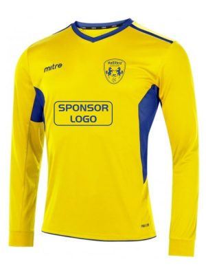 Halliford Colts FC Mitre Away Shirt Long Sleeve