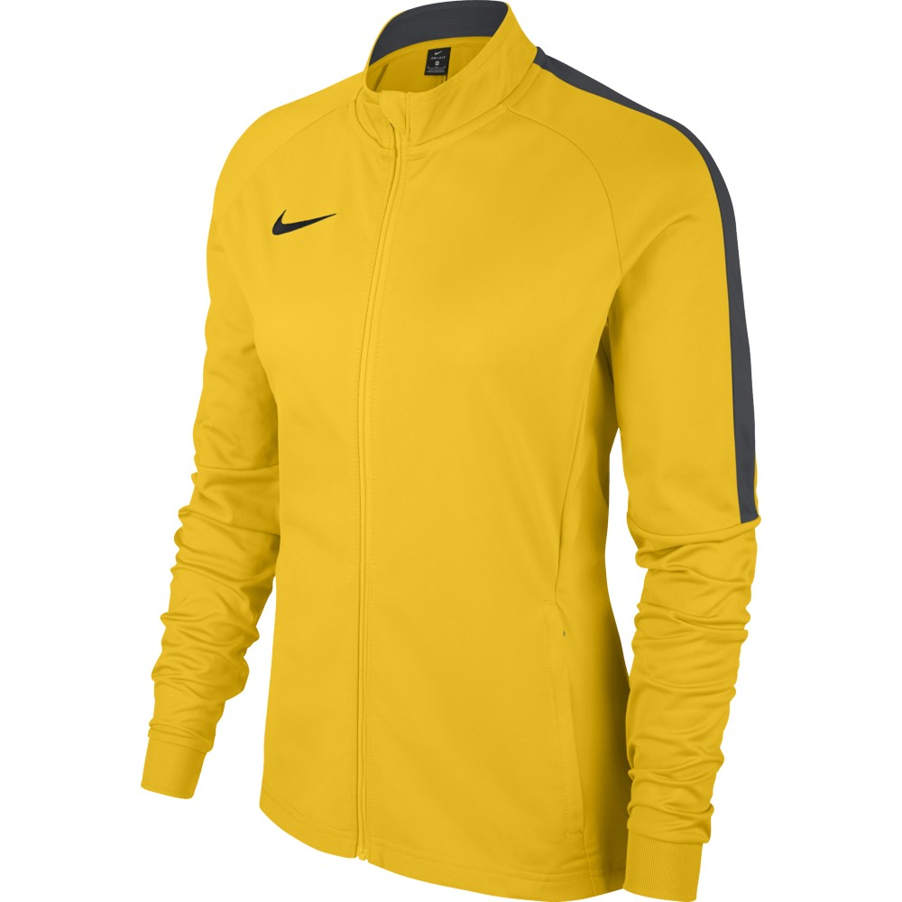da65f9ed2 Nike Womens Academy 18 Knit Track Jacket Top Tour Yellow/Anthracite/Black